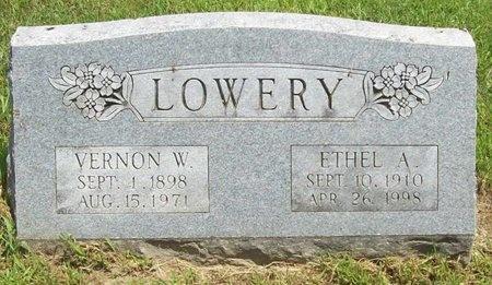LOWERY, ETHEL A. - Barry County, Missouri | ETHEL A. LOWERY - Missouri Gravestone Photos