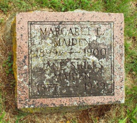 MAIDEN, JANE - Barry County, Missouri | JANE MAIDEN - Missouri Gravestone Photos