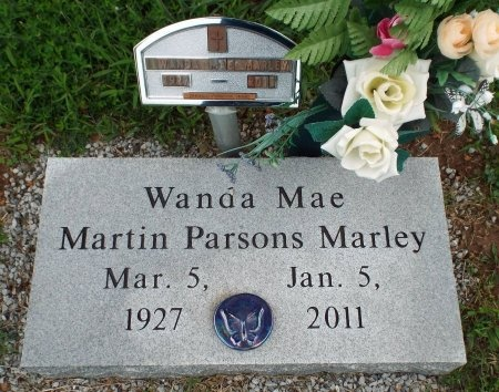 MARTIN MARLEY, WANDA MAE - Barry County, Missouri | WANDA MAE MARTIN MARLEY - Missouri Gravestone Photos