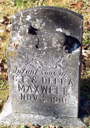 MAXWELL, INFANT SON - Barry County, Missouri | INFANT SON MAXWELL - Missouri Gravestone Photos
