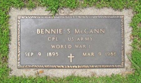 "MCCANN, BENJAMIN SOLOMAN ""BENNIE"" (VETERAN WWI) - Barry County, Missouri | BENJAMIN SOLOMAN ""BENNIE"" (VETERAN WWI) MCCANN - Missouri Gravestone Photos"