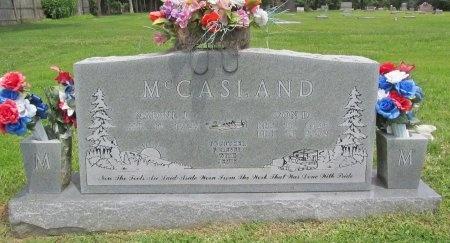 MCCASLAND, DON DOUGLAS (VETERAN WWII) - Barry County, Missouri | DON DOUGLAS (VETERAN WWII) MCCASLAND - Missouri Gravestone Photos