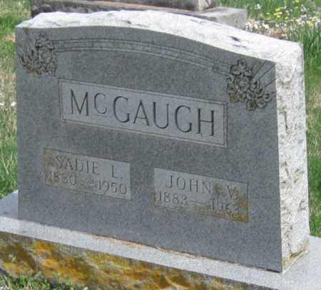 MCGAUGH, JOHN V - Barry County, Missouri | JOHN V MCGAUGH - Missouri Gravestone Photos