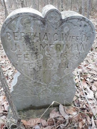 MERIMAN, BERTHA C. - Barry County, Missouri | BERTHA C. MERIMAN - Missouri Gravestone Photos