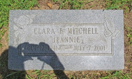 MITCHELL, CLARA E - Barry County, Missouri | CLARA E MITCHELL - Missouri Gravestone Photos