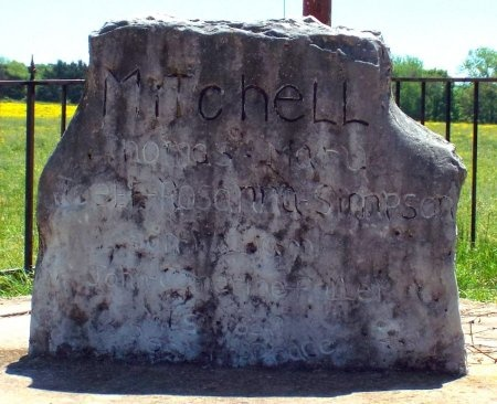 MITCHELL, JOEL FRANKLIN REV - Barry County, Missouri | JOEL FRANKLIN REV MITCHELL - Missouri Gravestone Photos