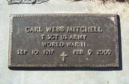 MITCHELL, CARL WEBB VETERAN WWII - Barry County, Missouri | CARL WEBB VETERAN WWII MITCHELL - Missouri Gravestone Photos