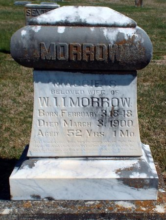 MORROW, MAGGIE S. - Barry County, Missouri   MAGGIE S. MORROW - Missouri Gravestone Photos
