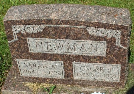 NEWMAN, SARAH A  - Barry County, Missouri | SARAH A  NEWMAN - Missouri Gravestone Photos