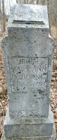 ROBINETTE OSBORNE, MARY ANN - Barry County, Missouri | MARY ANN ROBINETTE OSBORNE - Missouri Gravestone Photos