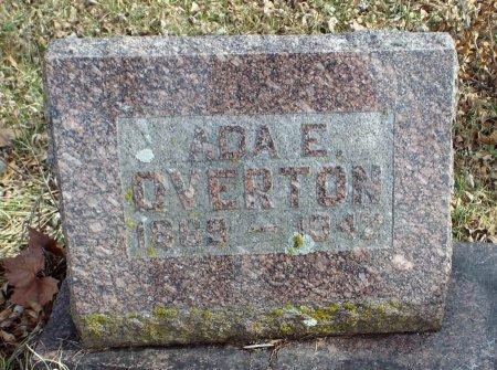 HOWERTON OVERTON, ADA EMMALINE - Barry County, Missouri | ADA EMMALINE HOWERTON OVERTON - Missouri Gravestone Photos