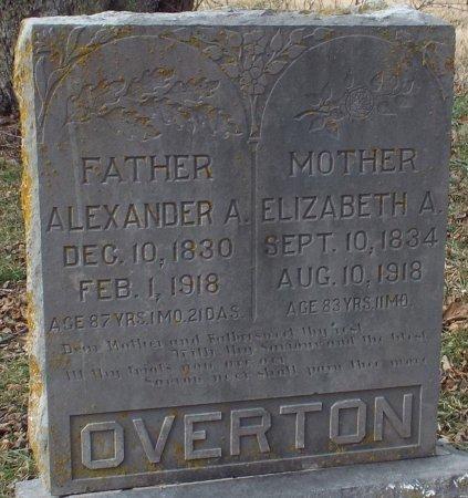 PACE OVERTON, ELIZABETH ARDIS - Barry County, Missouri | ELIZABETH ARDIS PACE OVERTON - Missouri Gravestone Photos