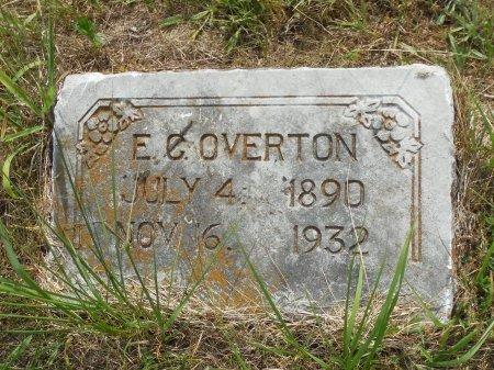 OVERTON, E. C. - Barry County, Missouri | E. C. OVERTON - Missouri Gravestone Photos