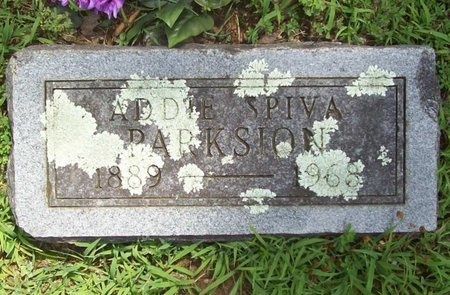 SPEARS SPIVA, ADDIE MAY - Barry County, Missouri | ADDIE MAY SPEARS SPIVA - Missouri Gravestone Photos