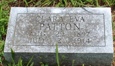 PATTON, CLARA EVA - Barry County, Missouri | CLARA EVA PATTON - Missouri Gravestone Photos