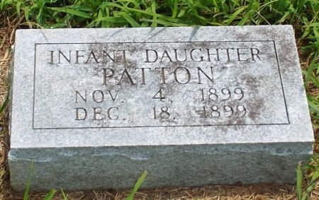 PATTON, INFANT DAUGHTER  - Barry County, Missouri   INFANT DAUGHTER  PATTON - Missouri Gravestone Photos