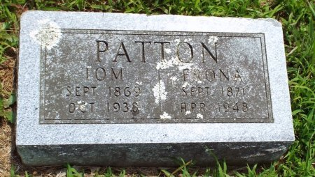 "PATTON, THOMAS ARTHUR ""TOM"" - Barry County, Missouri | THOMAS ARTHUR ""TOM"" PATTON - Missouri Gravestone Photos"