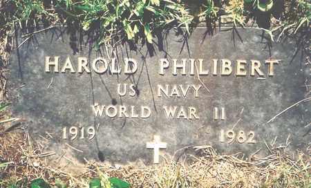 PHILIBERT, HAROLD (VETERAN WWII) - Barry County, Missouri | HAROLD (VETERAN WWII) PHILIBERT - Missouri Gravestone Photos