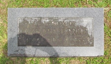 PRICE, GAYLORD HAMILTON - Barry County, Missouri | GAYLORD HAMILTON PRICE - Missouri Gravestone Photos