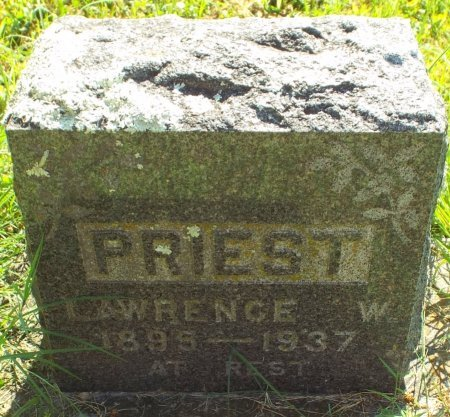 PRIEST, LAWRENCE WILLIAM  - Barry County, Missouri   LAWRENCE WILLIAM  PRIEST - Missouri Gravestone Photos