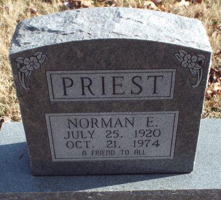 PRIEST, NORMAN E. - Barry County, Missouri   NORMAN E. PRIEST - Missouri Gravestone Photos