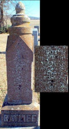 RATLIFF, FERIBA C. - Barry County, Missouri   FERIBA C. RATLIFF - Missouri Gravestone Photos