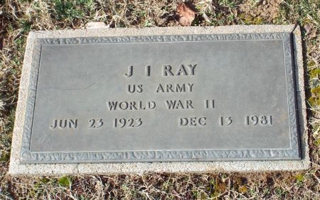 RAY, J I (VETERAN WWII) - Barry County, Missouri   J I (VETERAN WWII) RAY - Missouri Gravestone Photos