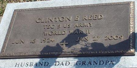 REED, CLINTON ELLIS (VETERAN WWII) - Barry County, Missouri | CLINTON ELLIS (VETERAN WWII) REED - Missouri Gravestone Photos