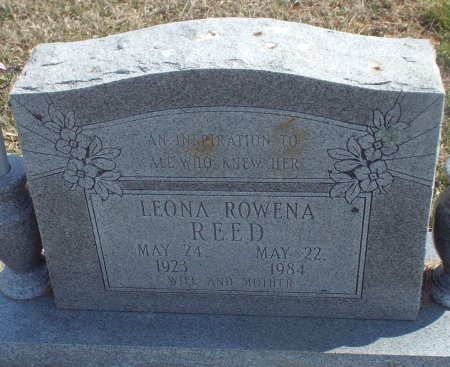 REED, LEONA ROWENA - Barry County, Missouri | LEONA ROWENA REED - Missouri Gravestone Photos