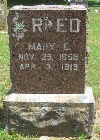 REED, MARY E. - Barry County, Missouri   MARY E. REED - Missouri Gravestone Photos