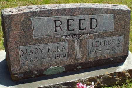 REED, GEORGE S. - Barry County, Missouri | GEORGE S. REED - Missouri Gravestone Photos