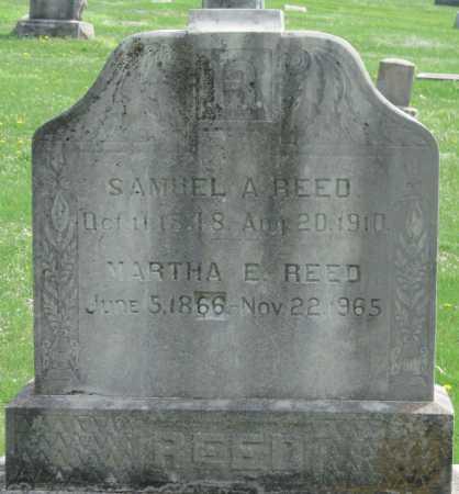 REED, MARTHA E - Barry County, Missouri | MARTHA E REED - Missouri Gravestone Photos