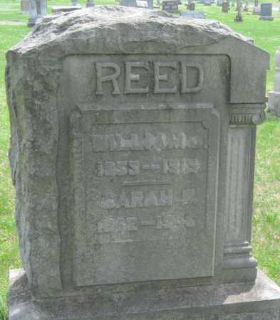 REED, WILLIAM J - Barry County, Missouri   WILLIAM J REED - Missouri Gravestone Photos
