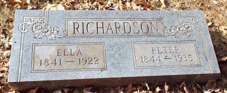 RICHARDSON, PETER - Barry County, Missouri | PETER RICHARDSON - Missouri Gravestone Photos