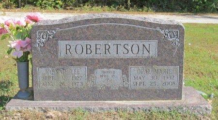 ROBERTSON, JOHNNIE LEE - Barry County, Missouri | JOHNNIE LEE ROBERTSON - Missouri Gravestone Photos