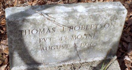 ROBERTSON, THOMAS JEFFERSON (VETERAN CW) - Barry County, Missouri | THOMAS JEFFERSON (VETERAN CW) ROBERTSON - Missouri Gravestone Photos
