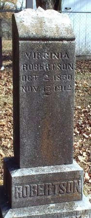 ROBERTSON, VIRGINIA - Barry County, Missouri | VIRGINIA ROBERTSON - Missouri Gravestone Photos