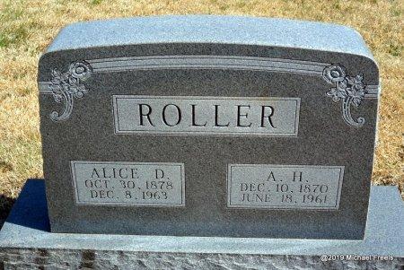 ROLLER, AHIMAS HIRAM - Barry County, Missouri | AHIMAS HIRAM ROLLER - Missouri Gravestone Photos