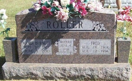 ROLLER, FRED - Barry County, Missouri | FRED ROLLER - Missouri Gravestone Photos