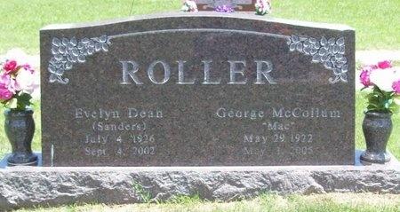 ROLLER, EVELYN DEAN - Barry County, Missouri   EVELYN DEAN ROLLER - Missouri Gravestone Photos
