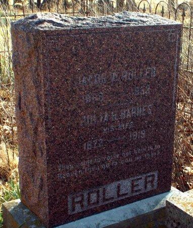 ROLLER, JULIA HARRIET - Barry County, Missouri | JULIA HARRIET ROLLER - Missouri Gravestone Photos