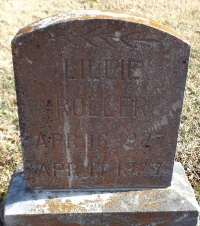 ROLLER, LILLIE - Barry County, Missouri   LILLIE ROLLER - Missouri Gravestone Photos