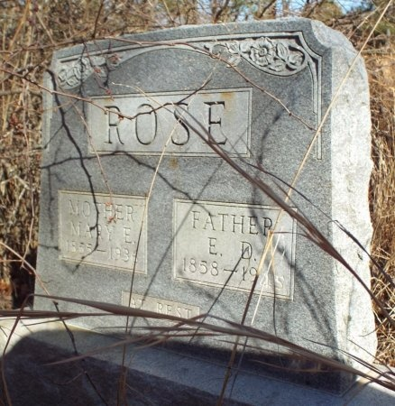 ROSE, MARY ELIZABETH - Barry County, Missouri   MARY ELIZABETH ROSE - Missouri Gravestone Photos