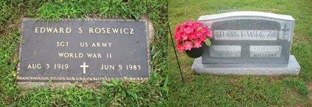 ROSEWICZ, EDWARD - Barry County, Missouri | EDWARD ROSEWICZ - Missouri Gravestone Photos
