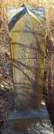 SAMSEL, WILLIAM T - Barry County, Missouri | WILLIAM T SAMSEL - Missouri Gravestone Photos
