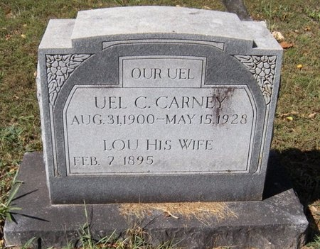 CARNEY, UEL CLEO - Barry County, Missouri | UEL CLEO CARNEY - Missouri Gravestone Photos