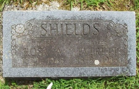 SHIELDS, ROSA A. - Barry County, Missouri | ROSA A. SHIELDS - Missouri Gravestone Photos