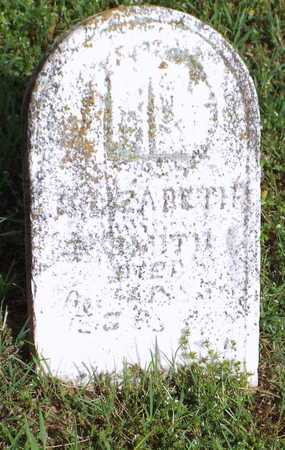 SMITH, ELIZABETH - Barry County, Missouri | ELIZABETH SMITH - Missouri Gravestone Photos