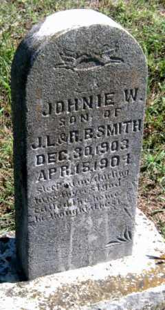 SMITH, JOHNIE W - Barry County, Missouri | JOHNIE W SMITH - Missouri Gravestone Photos