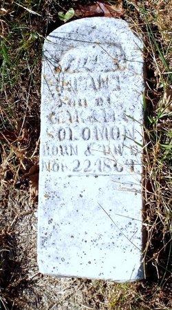 SOLOMON, INFANT SON - Barry County, Missouri | INFANT SON SOLOMON - Missouri Gravestone Photos
